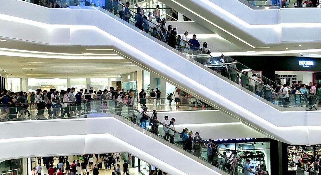 Shopping Mall photo- credit: https://unsplash.com/@heamosoo